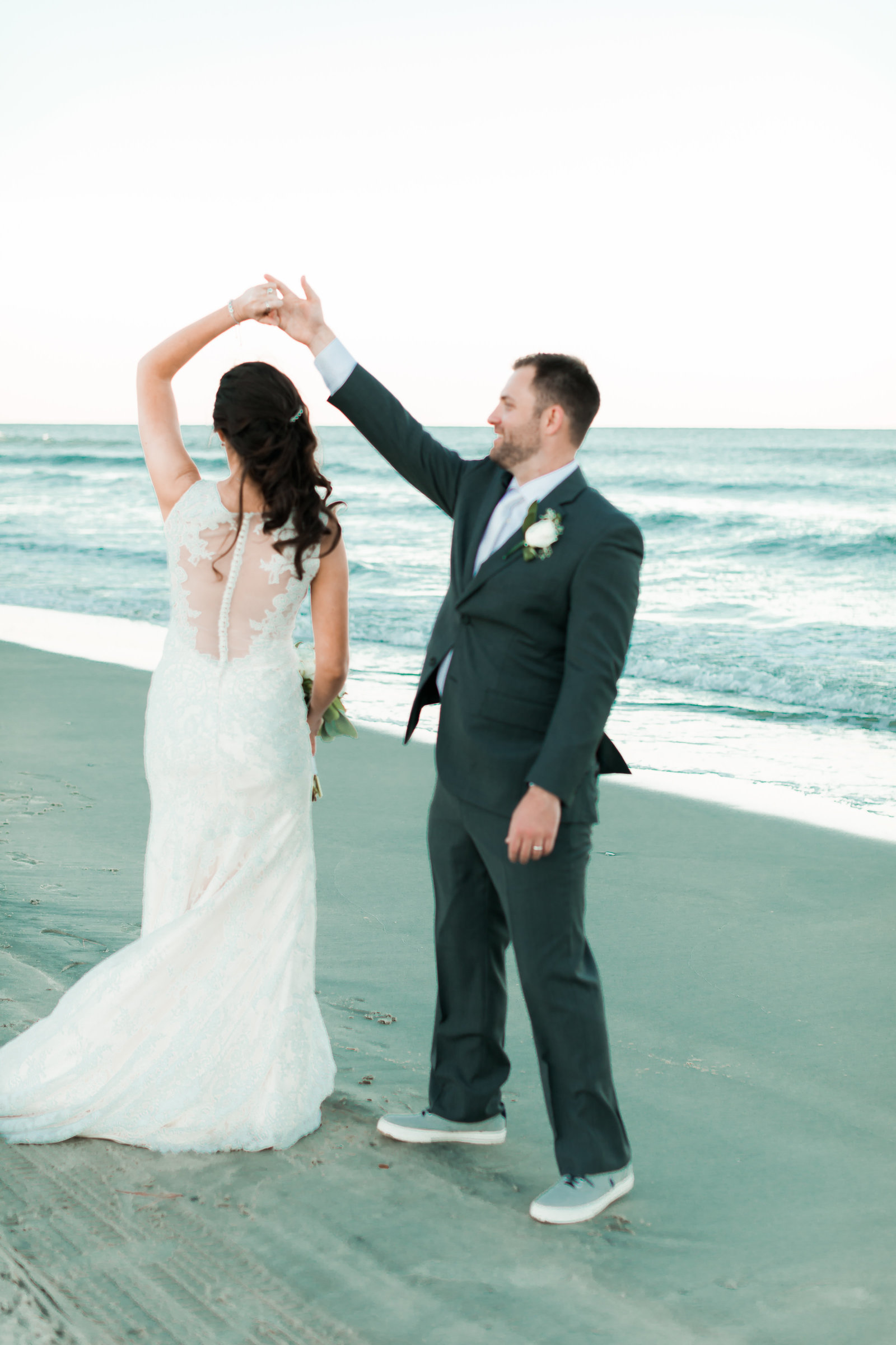 Classic Outer Banks Wedding by Elizabeth Friske Photography-51