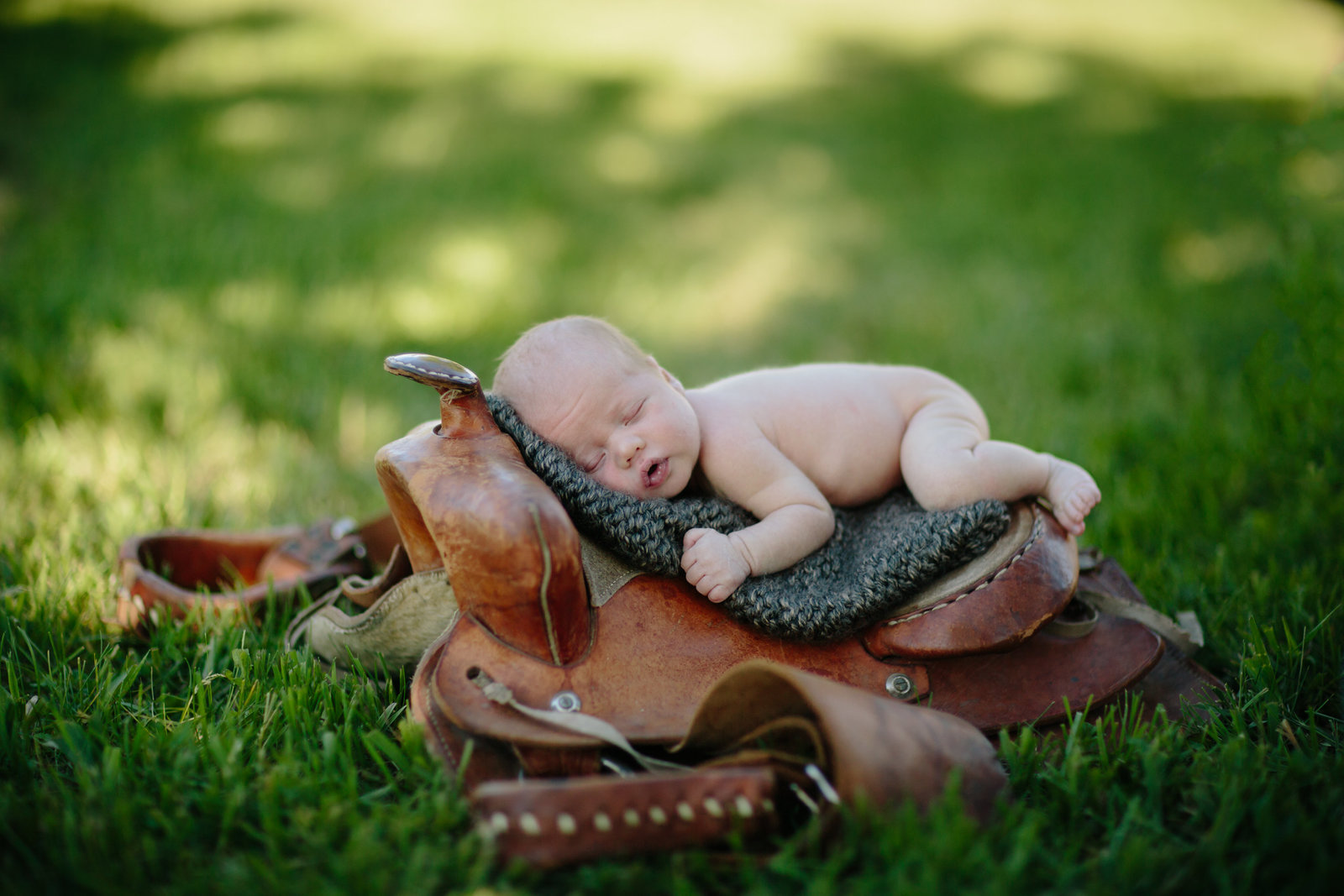 Newborn Cowboy Photos