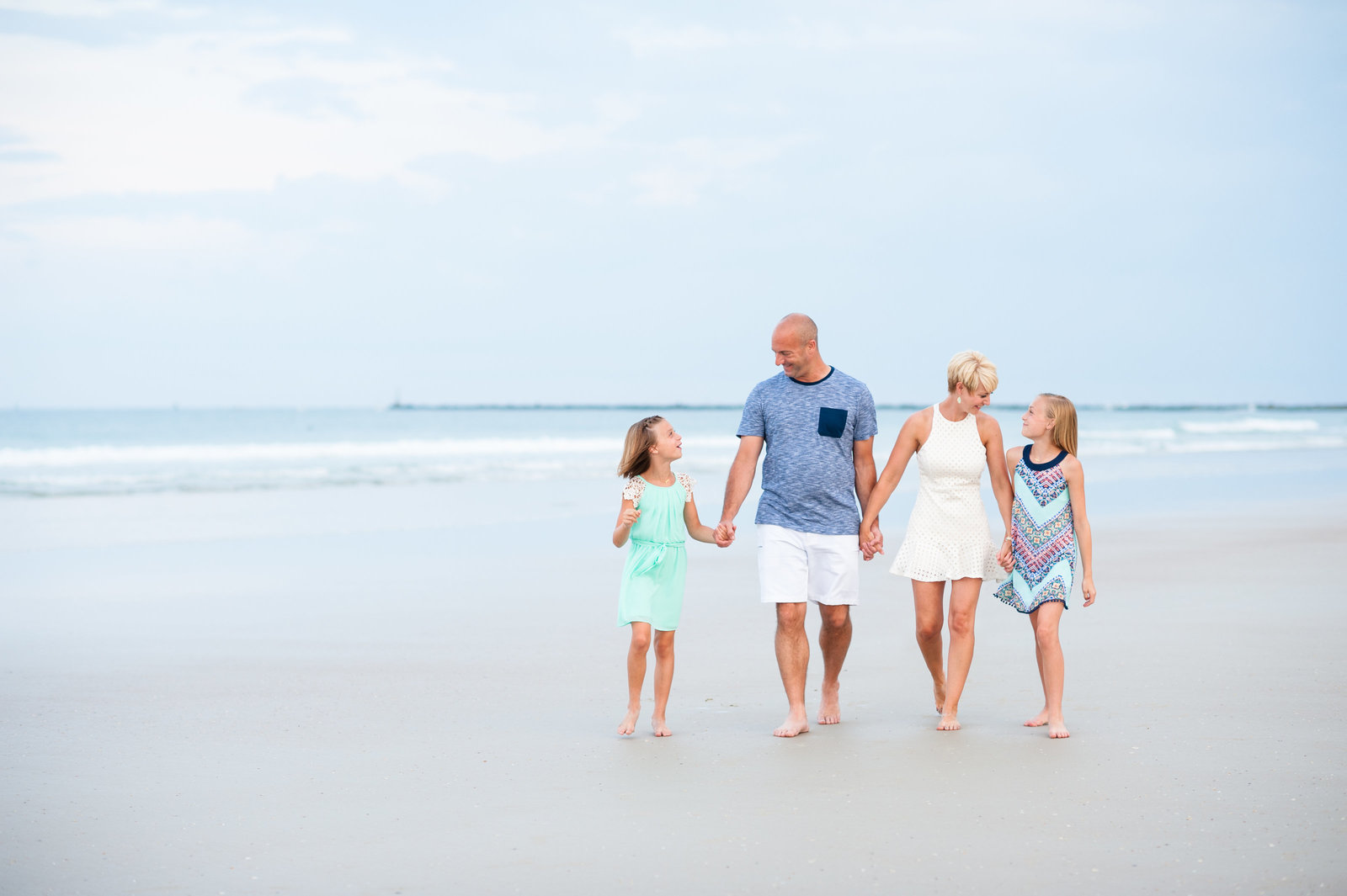 Ponce Inlet family portrait photographer