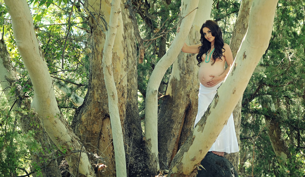 Maternity Session sexy mommy