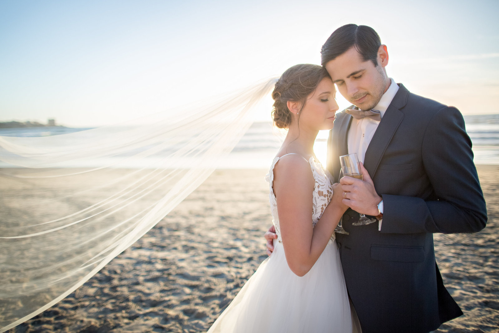 Scripps Seaside Forum Wedding Photos-30