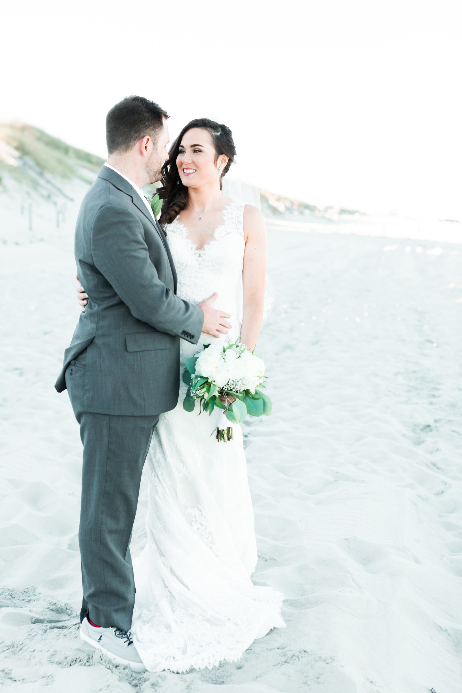 Classic Outer Banks Wedding by Elizabeth Friske Photography-39