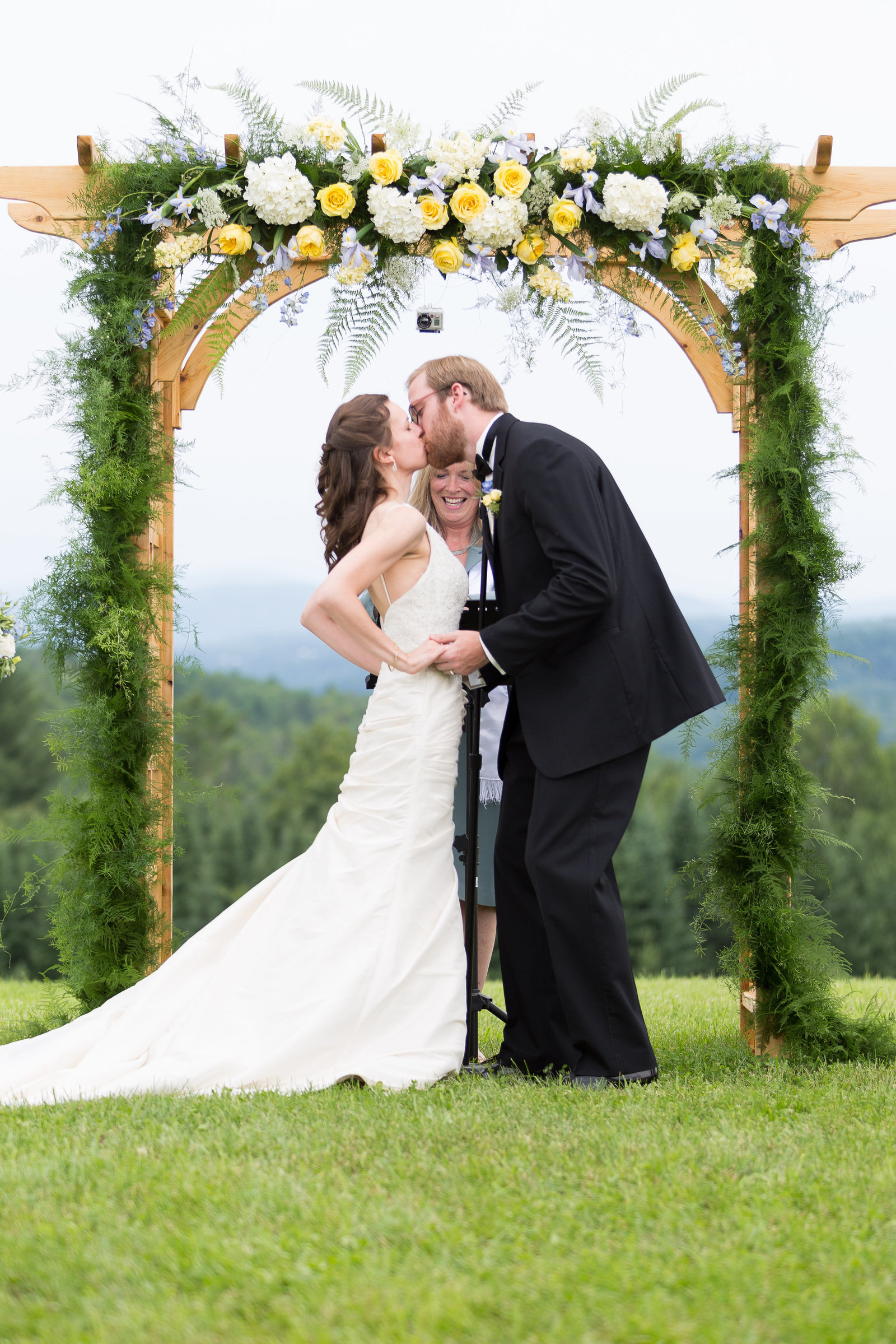 Vermont Backyard Wedding