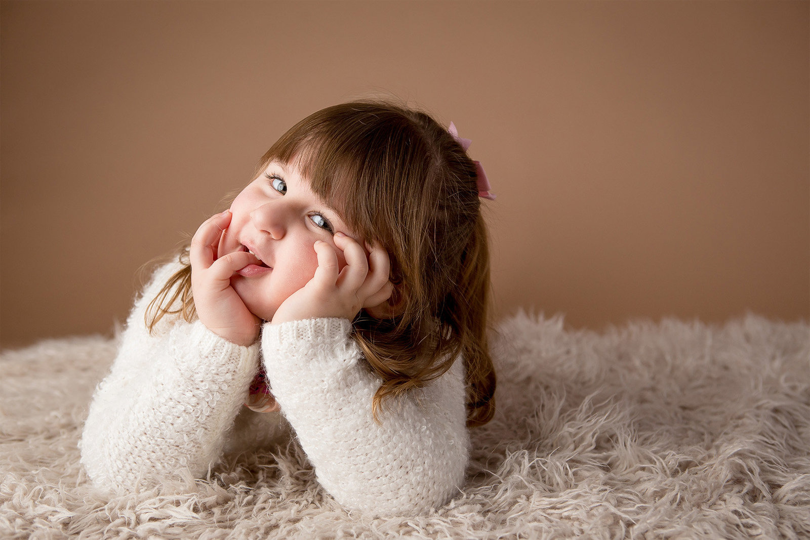 Cute kids  portrait photography by Hudson Valley children's photographer in Cornwall NY photo studio