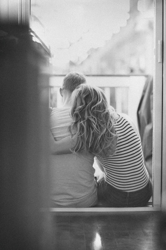 Intimate Home Engagement Photos Boston Weddings-39