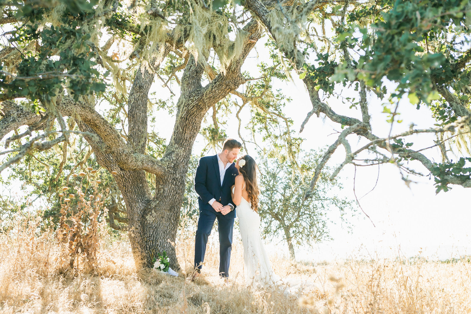 Private Estate Bride and Groom Portrait San Luis Obispo