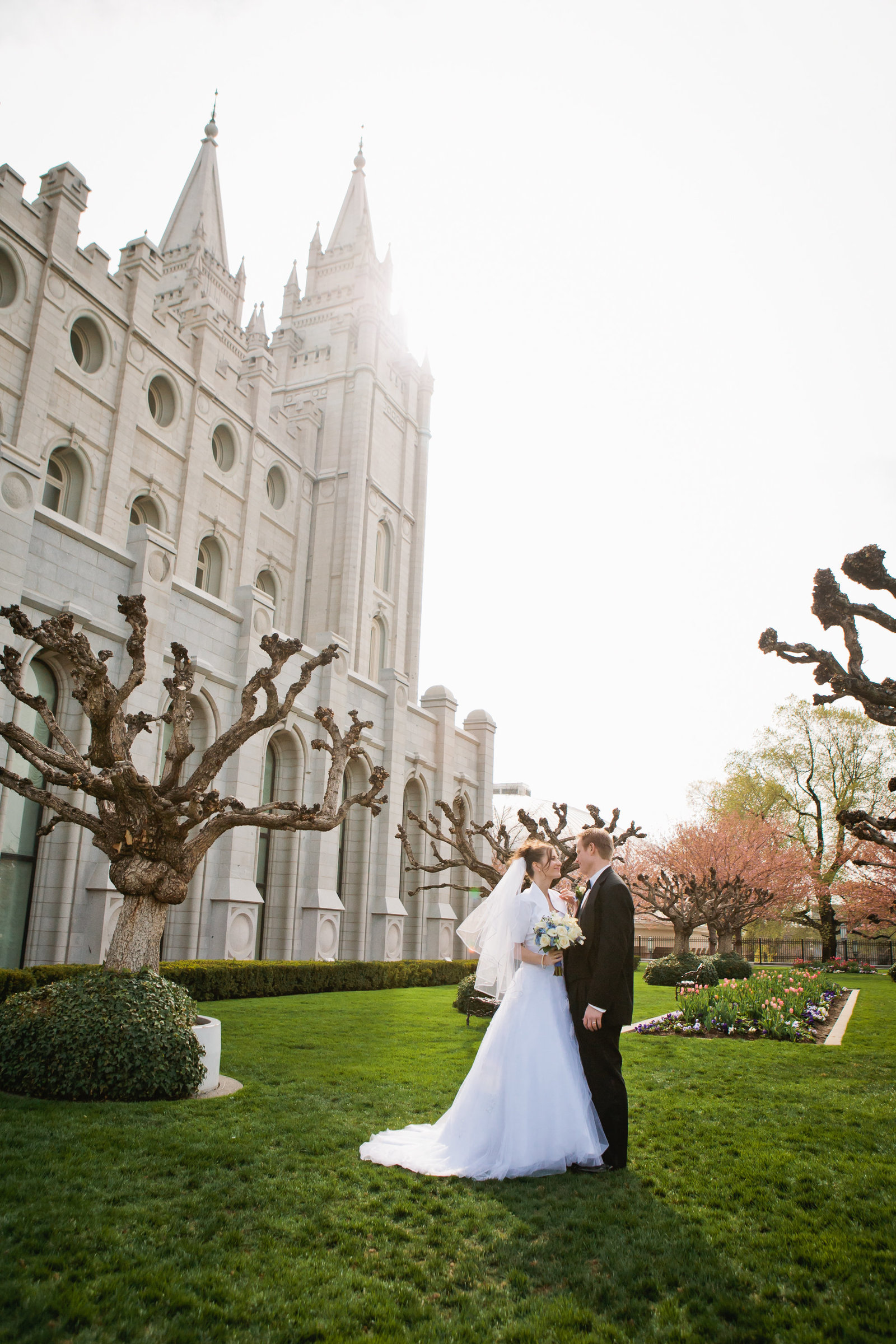 SLC LDS Mormon Wedding