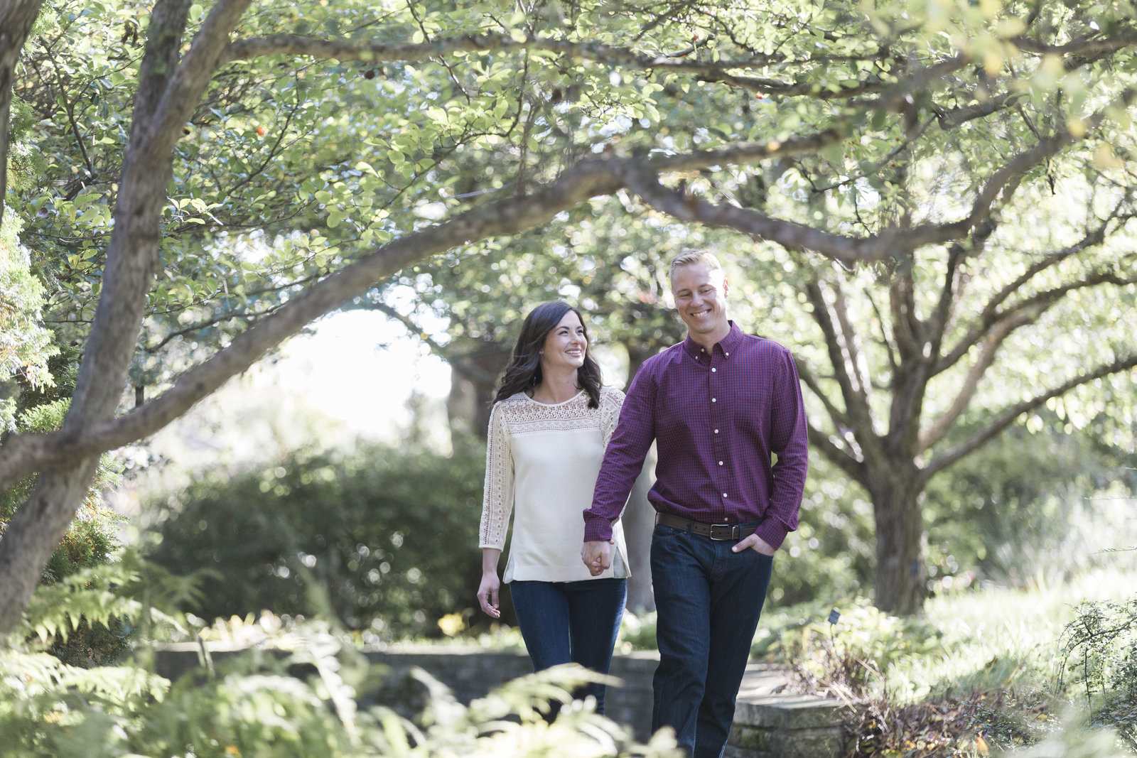 chicago botanic gardens engagement pictures-7