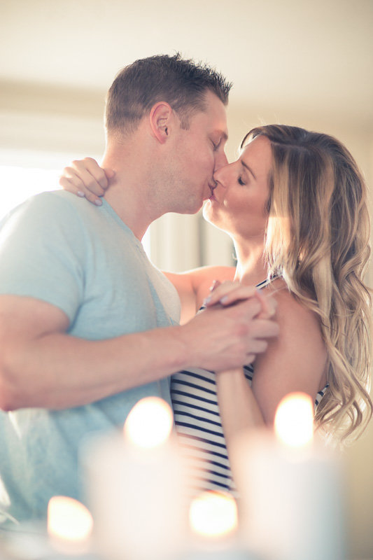 Intimate Home Engagement Photos Boston Weddings-50