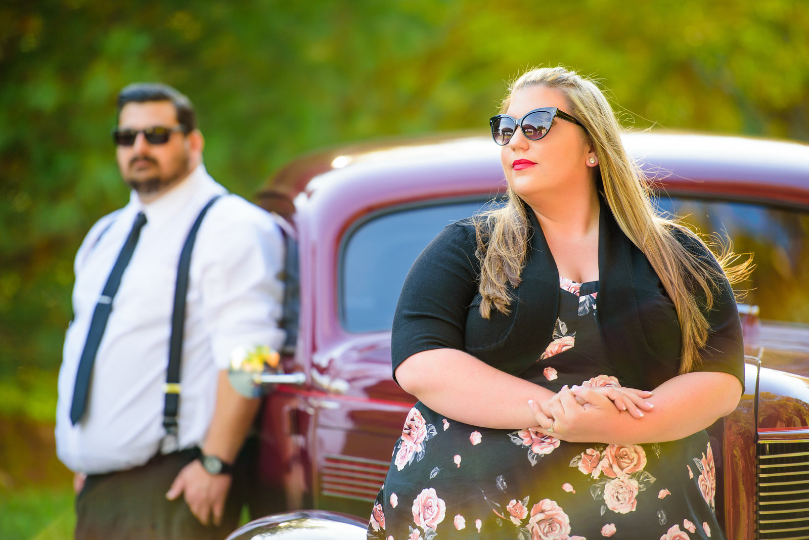 Retro_Pinup_Car_engagement_session_Nj017