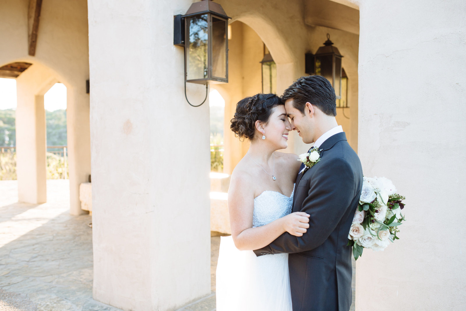 austin wedding photographers love chapel dulcinea, a hill country wedding venue with an open air chapel