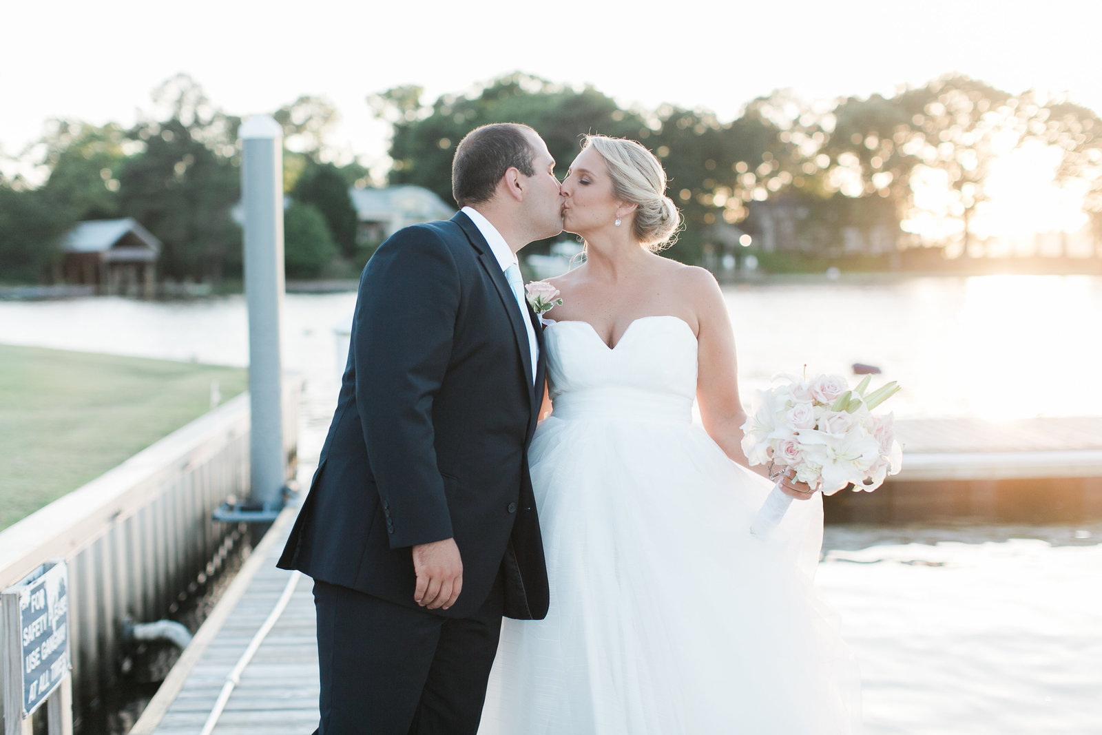 Cavalier Yacht and Golf Club Wedding by Elizabeth Friske Photography-348