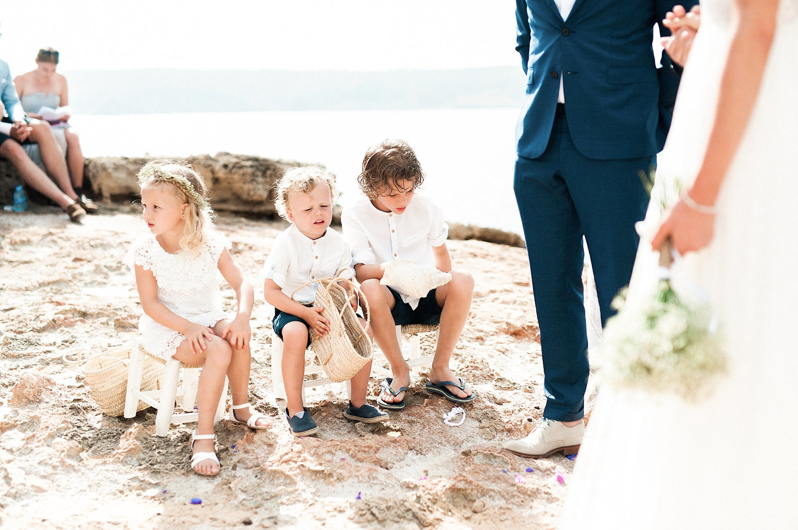 Wedding Cala Xuclar Beach - Ibiza - Photographer Jennifer Arndt Spain