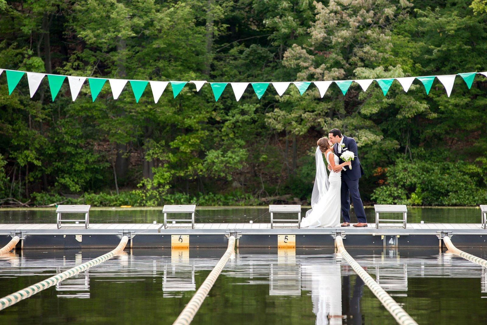 Lake Valhalla Club Wedding Photo