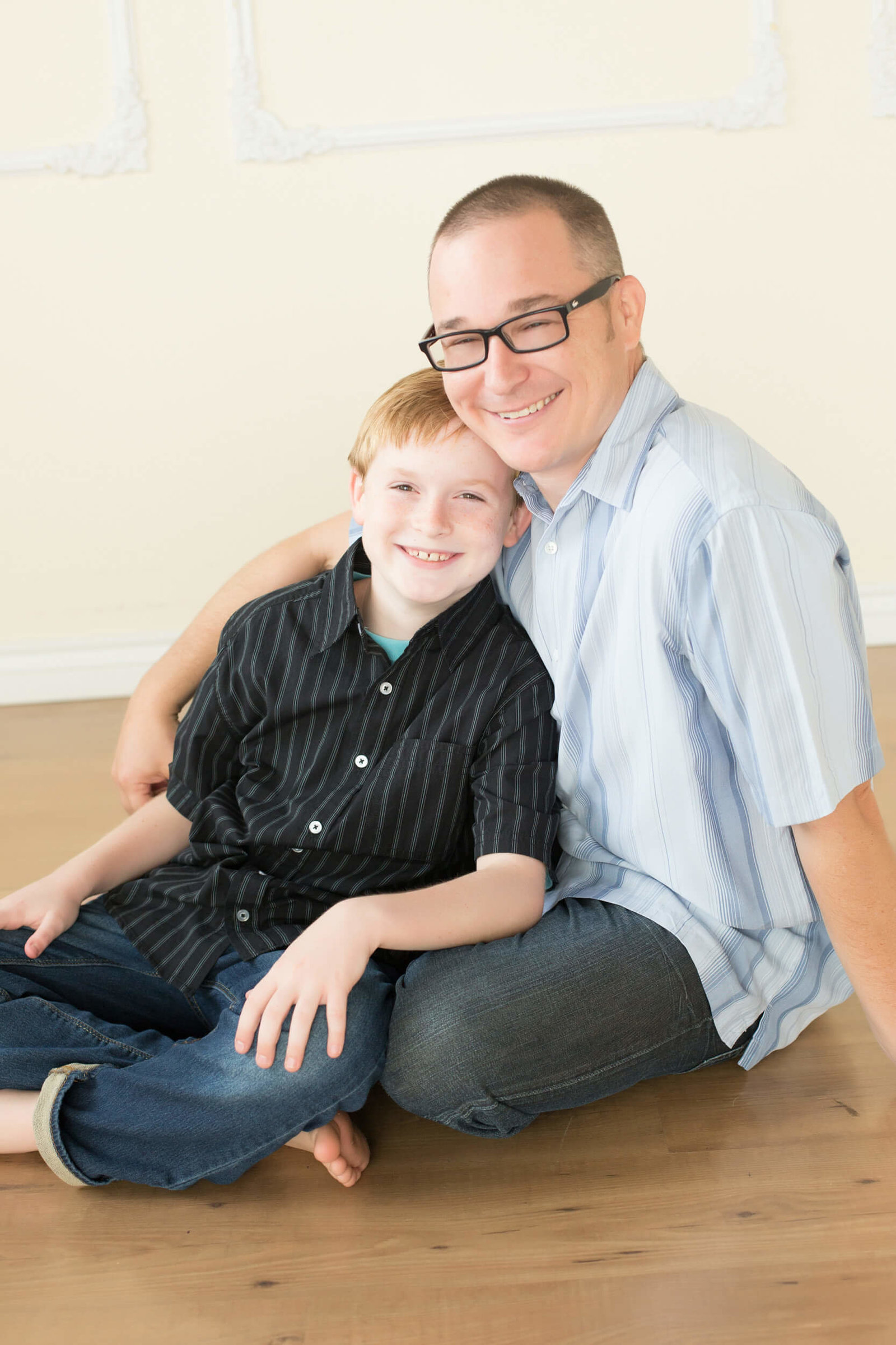 scottsdale father and son photoshoot