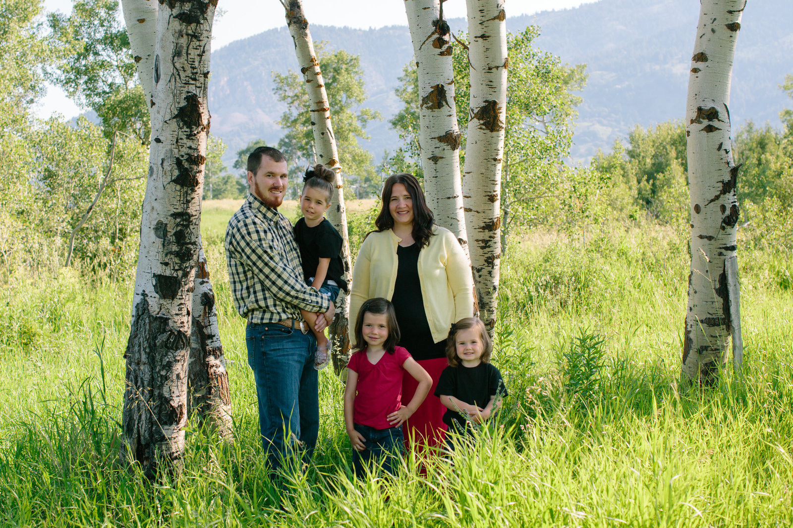 Star Valley Wyoming Family Photographer