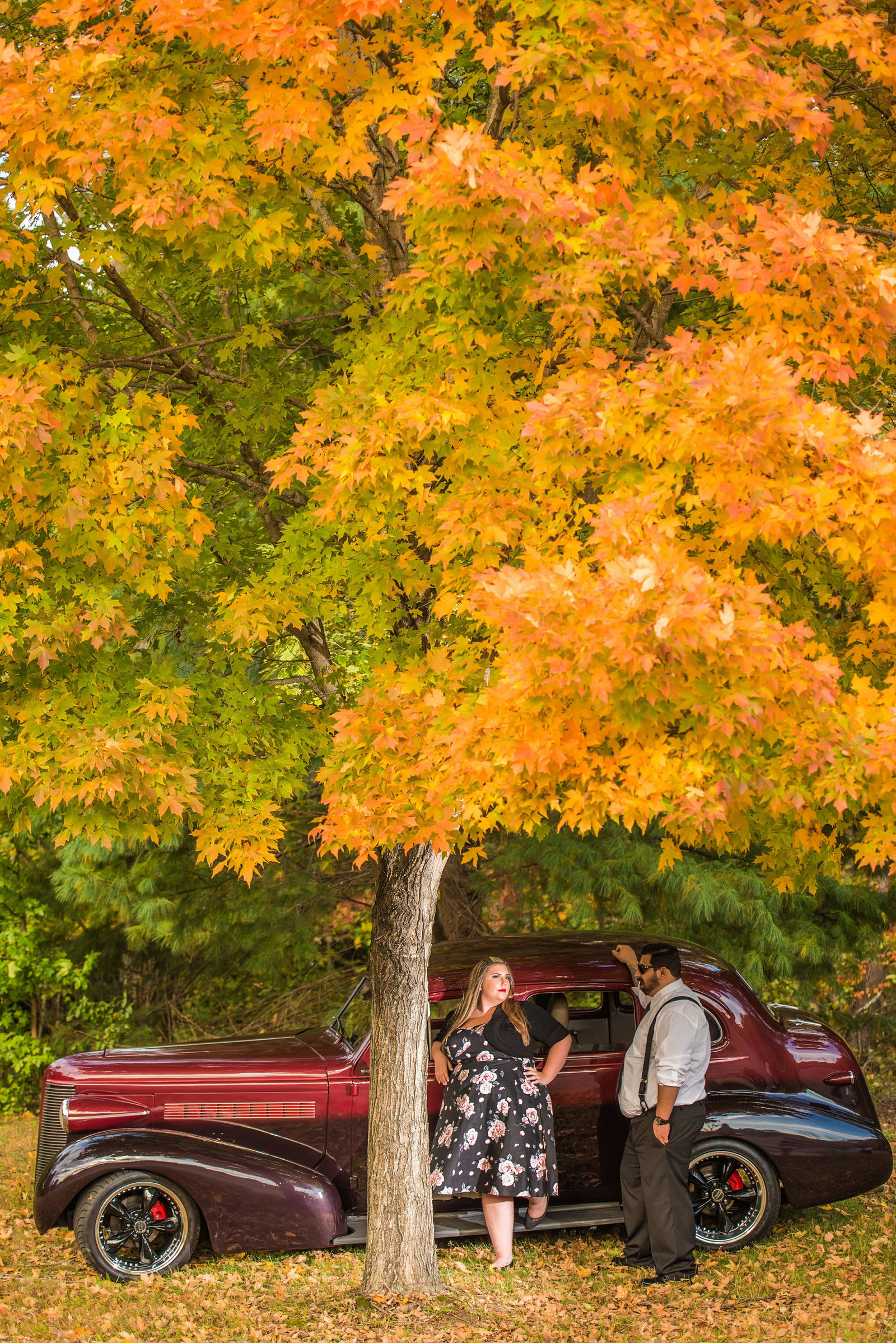 Retro_Pinup_Car_engagement_session_Nj072