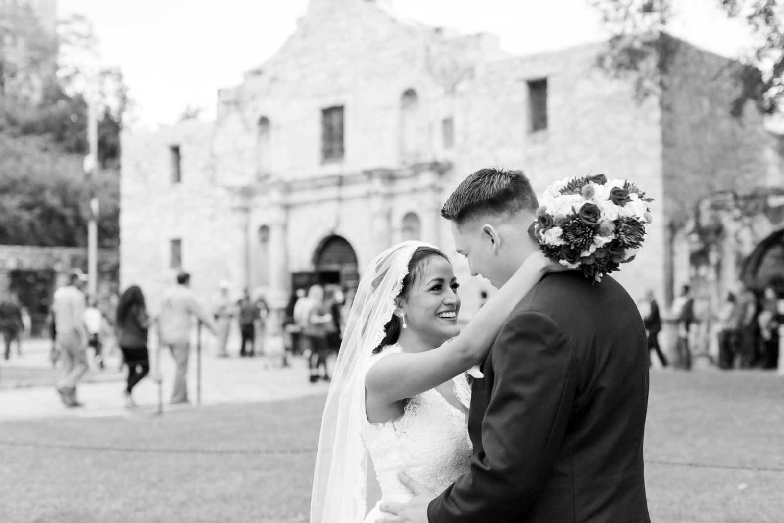 San-Fernando-Cathedral-San-Antonio-TX-Downtown-Wedding-Sunset-Station-Romantics-Photo-87