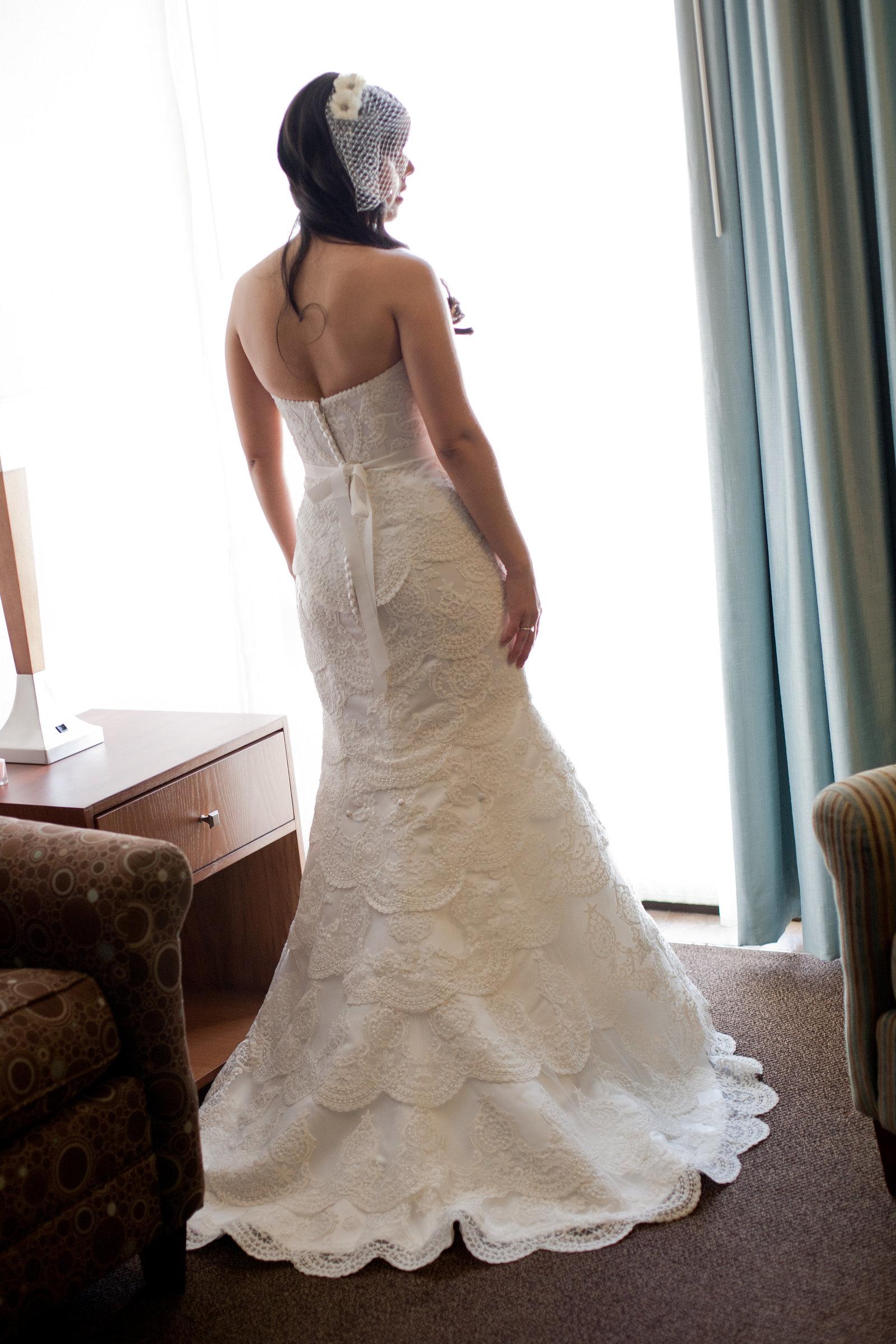 Austin Family Photographer, Tiffany Chapman, bride in window light photo