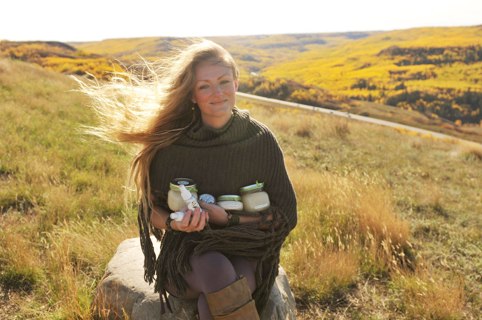 The Green Goddess Products in Peace River Alberta  by Melissa E Earle Mee