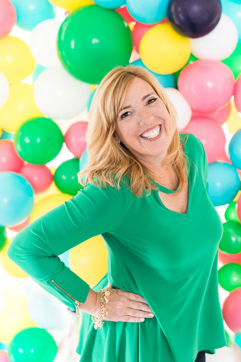 Blenda from I heart Balloons | Photo branding session 8