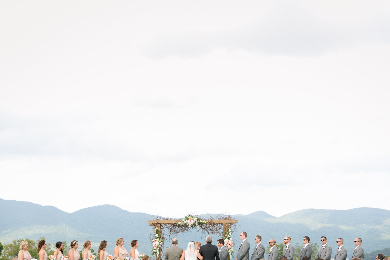 Mountain Top Inn Vermont Wedding Ceremony