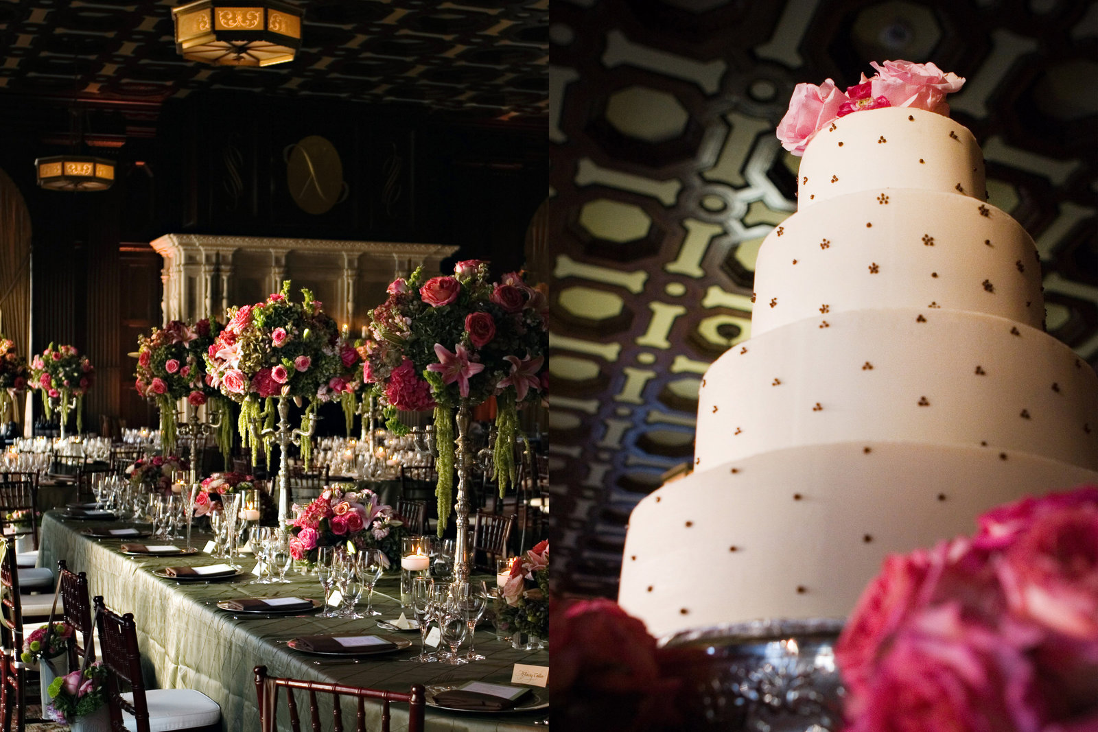 Julia Morgan Ballroom, Julia Morgan Ballroom Wedding, wedding cake, Jennifer Baciocco Photography