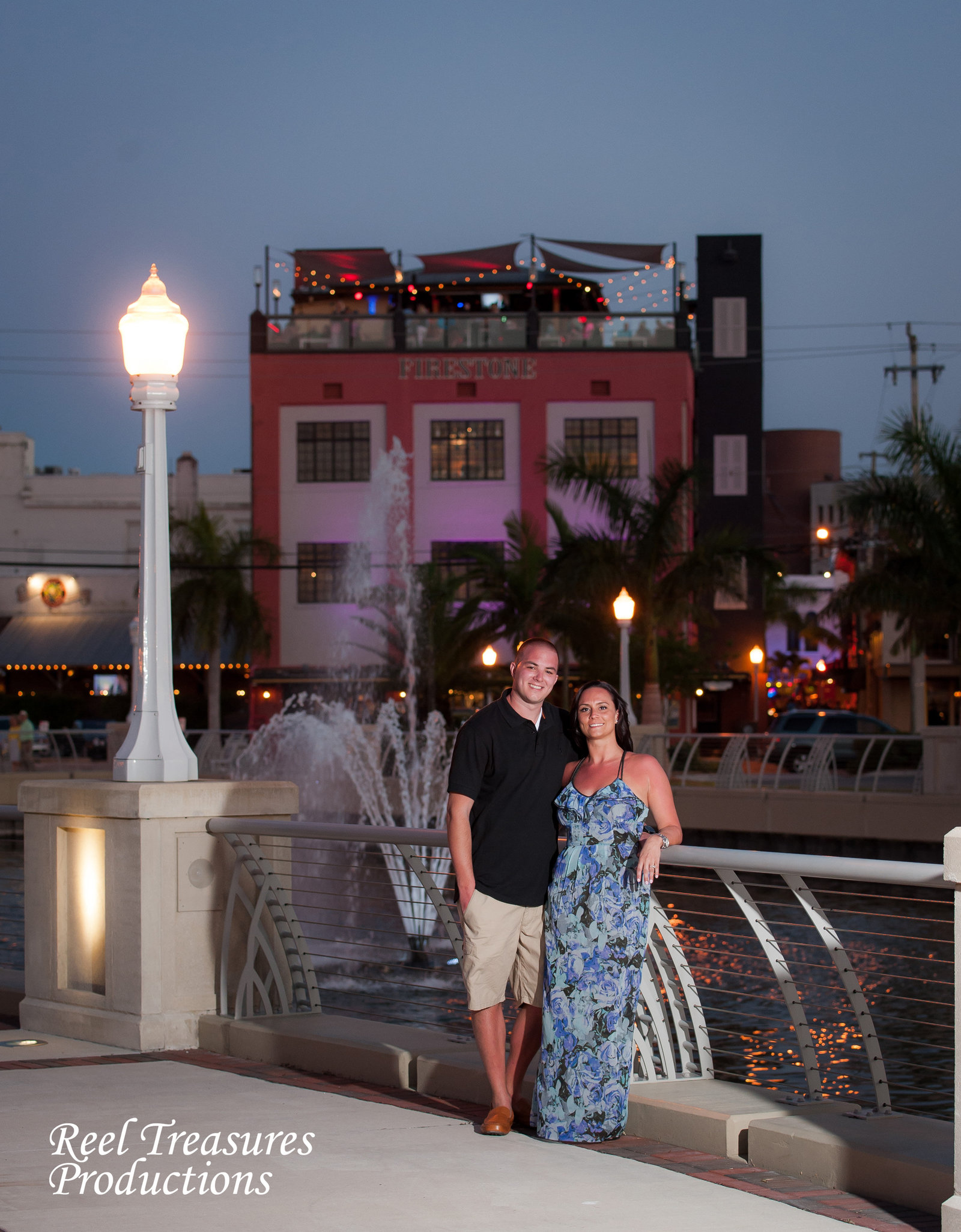 Reel Treasures Productions Engagement Shoot Fort Myers FL.