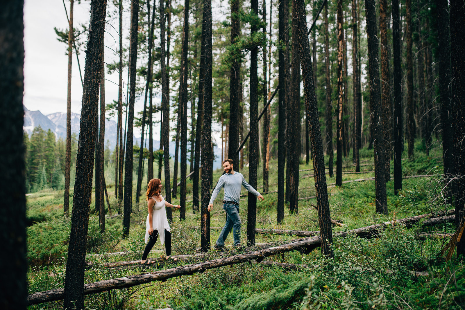 Jasper Adventure Engagement Session