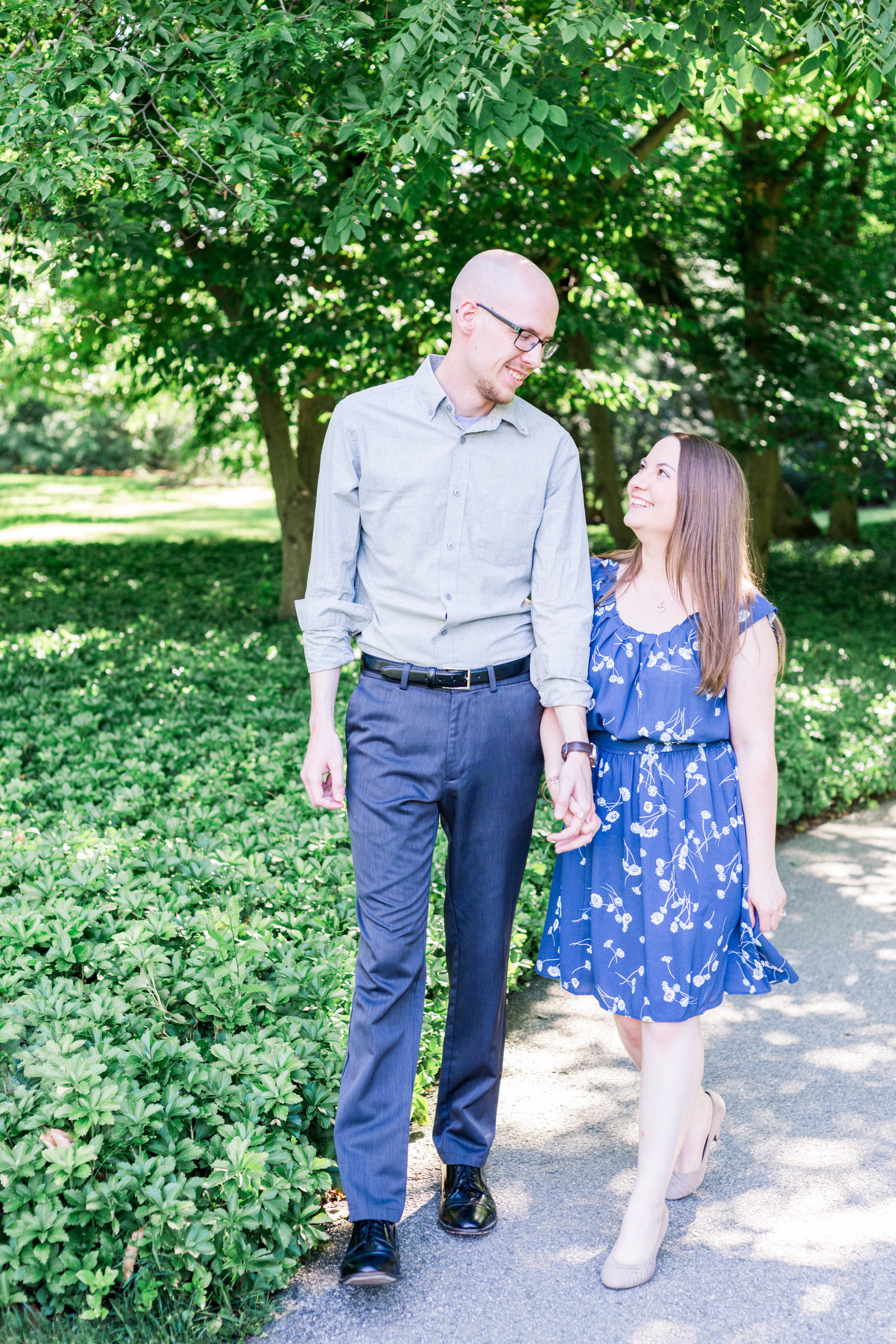 Jamie & Isaac Engagement Session Longwood Gardens sneak peeks-1
