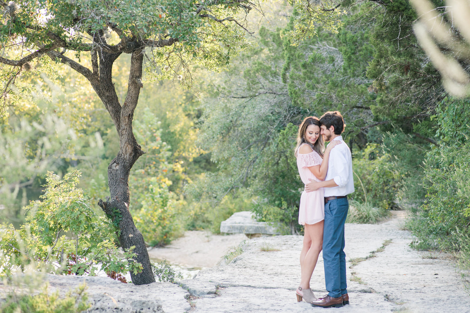 Engagement Session at Bull Creek-34