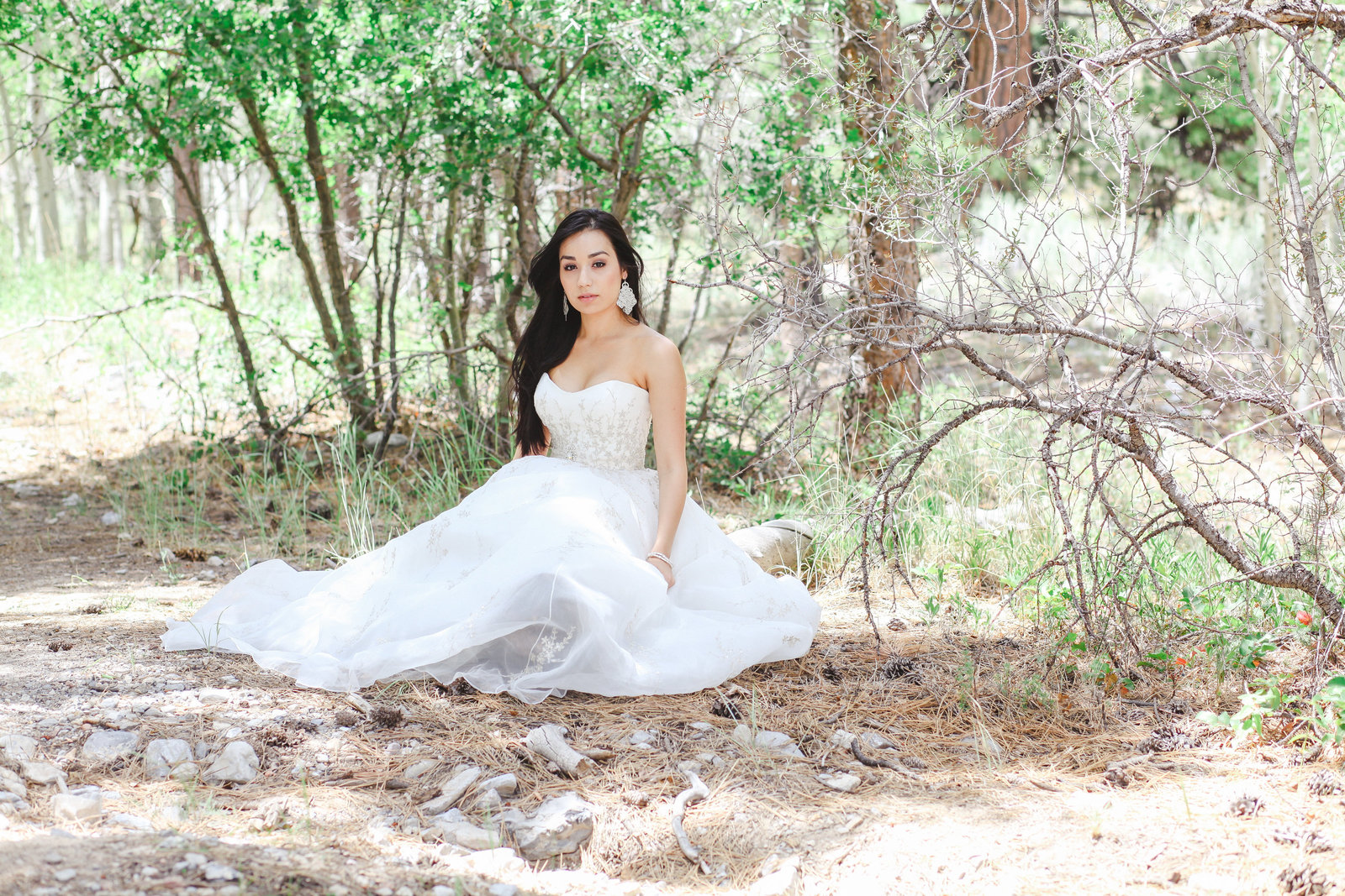 bridal portrait of Oregon bride in Portland | Susie Moreno Photography
