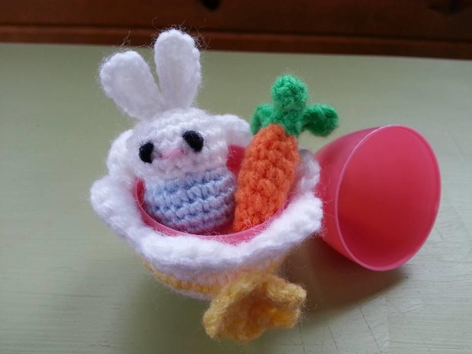 Bunny Egg Open