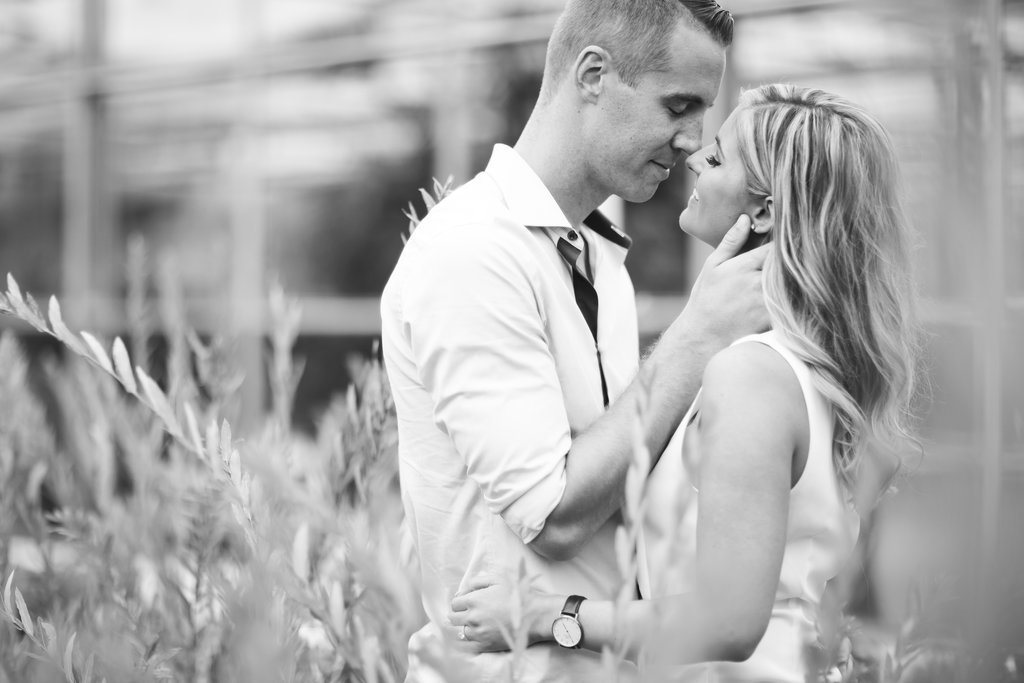 Saint John NB Wedding Photographers & Filmmakers - Garden Engagement Photos59