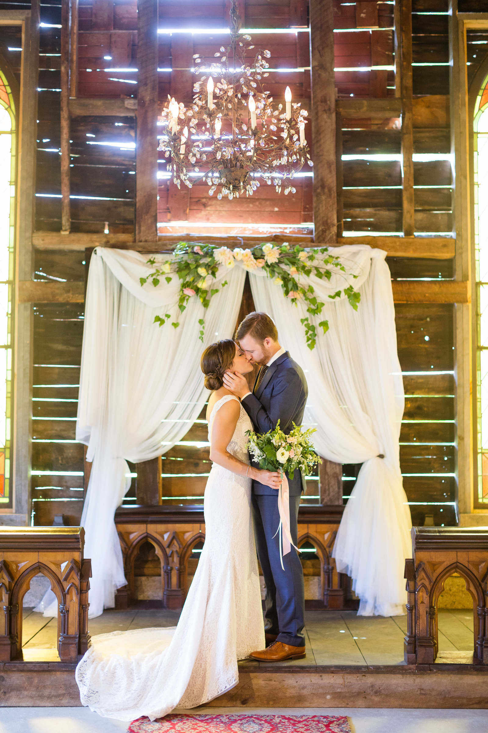 New Hampshire Barn Wedding Ceremony