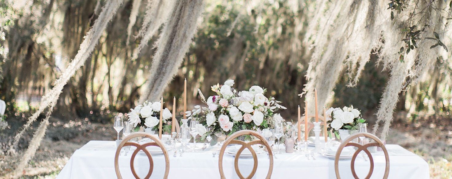 Spanish Moss Wedding Details Oldfield Plantation South Carolina