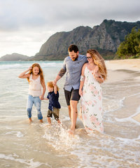 Oahu Family Beach Session
