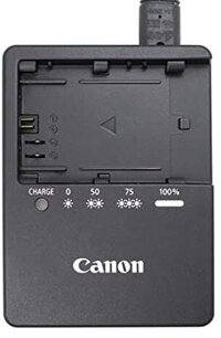 canon battery charger port