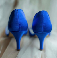 bokeh love photography wedding shoes