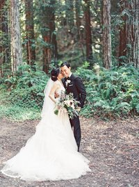 California Romantic Fine Art Wedding Photography at Chenoweth Woods \ Northern California Film Wedding Photographer_0094