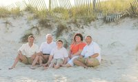 Panama City Beach family photographer reviews family beach photos