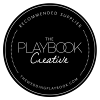 Wedding Playbook Creative Member Badge Black