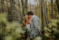 outdoor fall vail colorado wedding