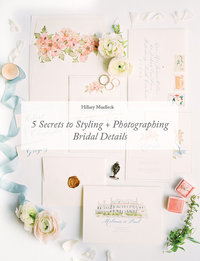 COVER-5 secrets to styling and photographing details