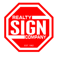 realty sign co logo