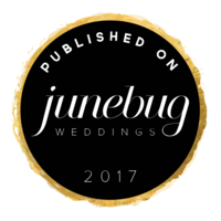 junebug weddings feature