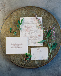 teaching how to photograph details and invitations with brushfire