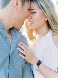 Angel + Kevin Piedmont Park Engagement Session Film 0022