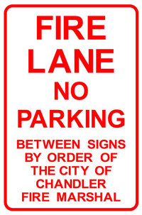 Fire Lane Chandler