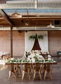 Life in Bloom Best Chicago Wedding Florist Morgan Manufacturing Wedding10